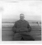 James Carney on bench at sea front.jpg