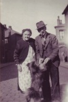 Alice Mackney with husband