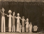 Pender Troupe on Stilts