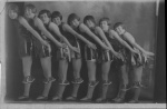 Annie Anita (far left) Dance lineup- 22 Sept 1928.jpg
