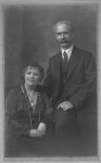 Arthur Henry and Sarah Anne Braham - Studio Photo